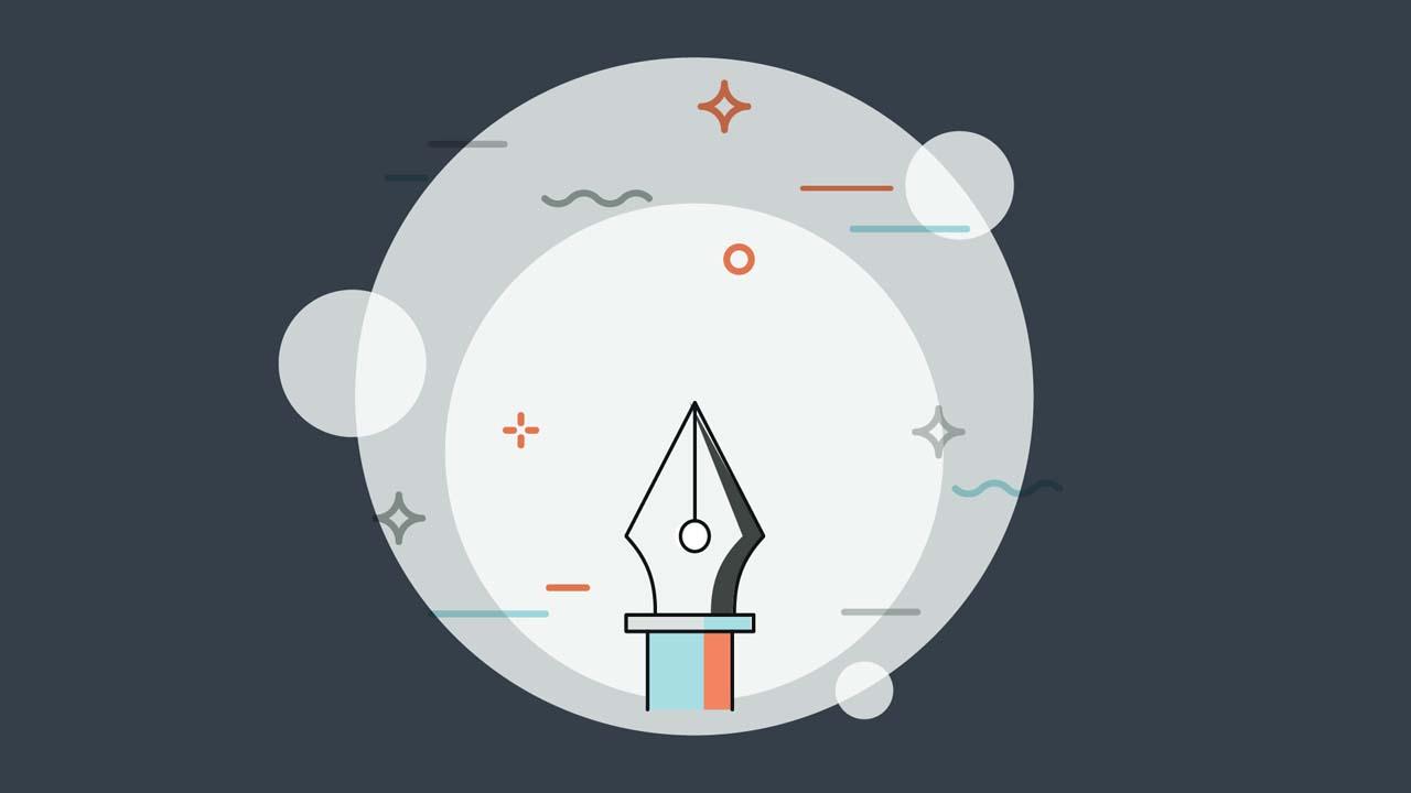 Illustration på Illustrators Ritstift